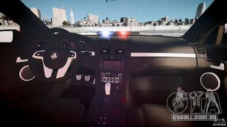 Holden Commodore SS (FBINOoSE) para GTA 4 vista direita