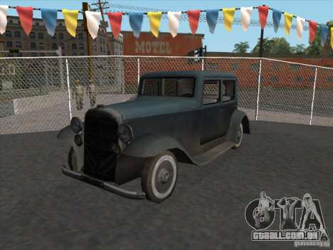 O veículo da segunda guerra mundial para GTA San Andreas