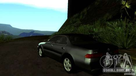 Toyota Carina ED ST202 para GTA San Andreas traseira esquerda vista