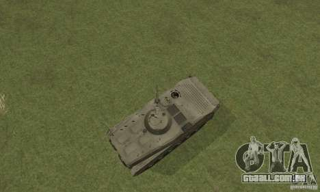 BMP-1 cinza para GTA San Andreas vista direita
