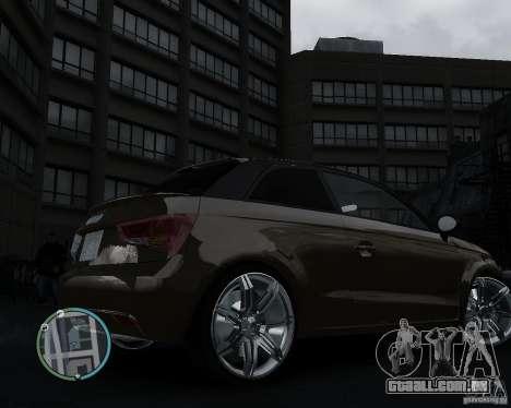 Audi A1 v.2.0 para GTA 4 vista direita