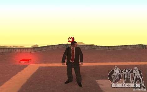 Unique animation of GTA IV V3.0 para GTA San Andreas terceira tela