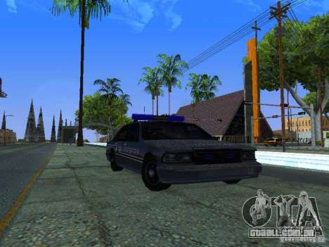 Lumpkin Country Sheriffs Office para GTA San Andreas