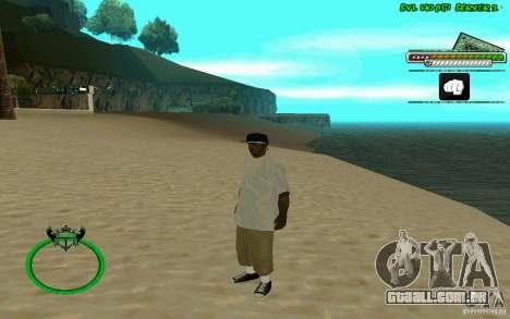 Nigga HD skin para GTA San Andreas quinto tela