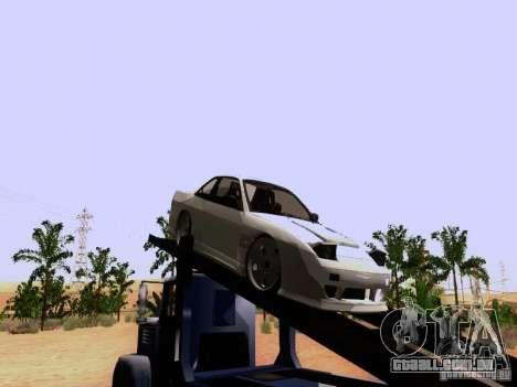 Nissan 240SX (S13) para GTA San Andreas traseira esquerda vista