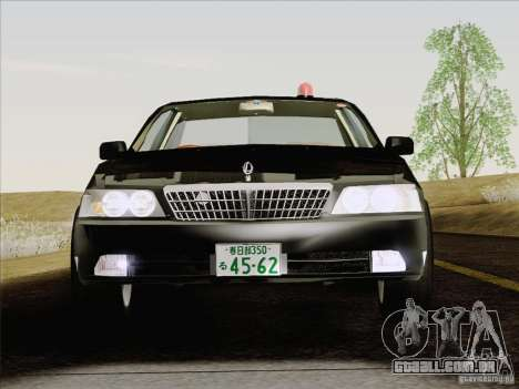 Nissan Laurel GC35 Kouki Unmarked Police Car para GTA San Andreas vista interior