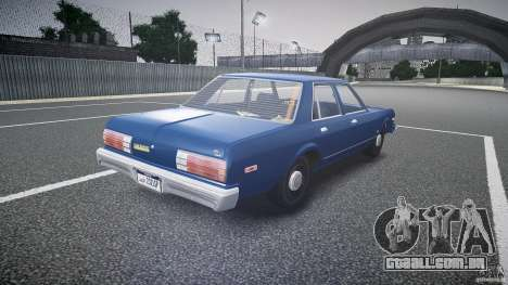 Dodge Aspen v1.1 1979 para GTA 4 vista lateral