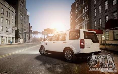 Land Rover Discovery 4 2013 para GTA 4 esquerda vista