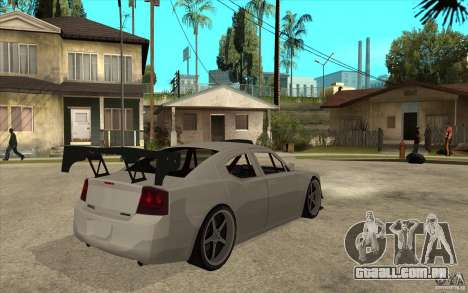 Dodge Charger 2009 para GTA San Andreas vista direita