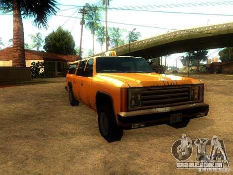 Taxi Rancher para GTA San Andreas