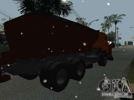 KAMAZ 53215 para GTA San Andreas esquerda vista