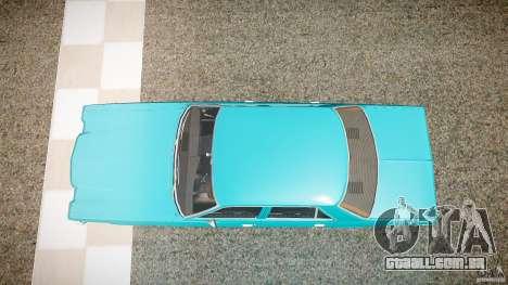 Dodge Aspen v1.1 1979 yellow rear turn signals para GTA 4 vista direita