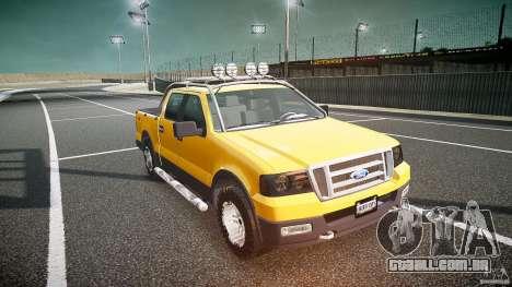 Ford F150 FX4 OffRoad v1.0 para GTA 4 vista de volta