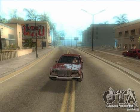 Minhas configurações ENBSeries HD para GTA San Andreas terceira tela