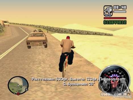 Speed Udo para GTA San Andreas quinto tela