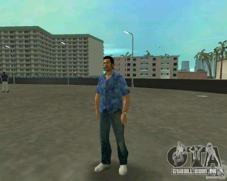 Tommy em HD + novo modelo para GTA Vice City segunda tela
