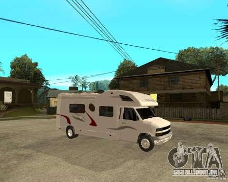 Chevrolet Camper para GTA San Andreas vista direita