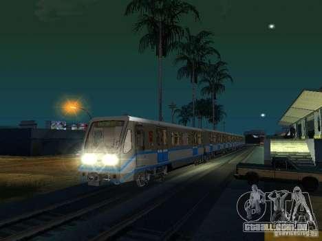 Novo sinal de trem para GTA San Andreas terceira tela