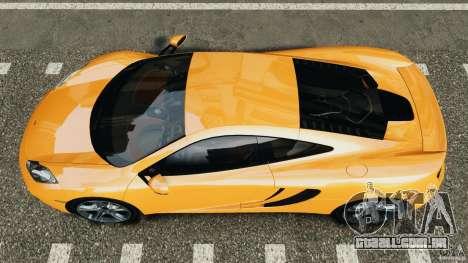 McLaren MP4-12C v1.0 [EPM] para GTA 4 vista direita