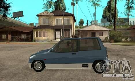 Suzuki Alto Works para GTA San Andreas esquerda vista
