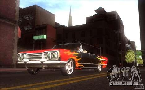 Savanna HD para GTA San Andreas vista traseira