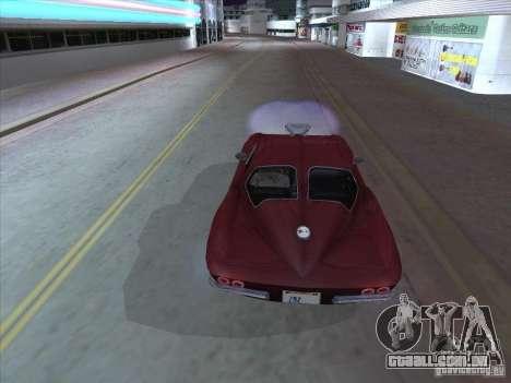 Chevrolet Corvette Big Muscle para GTA San Andreas vista direita