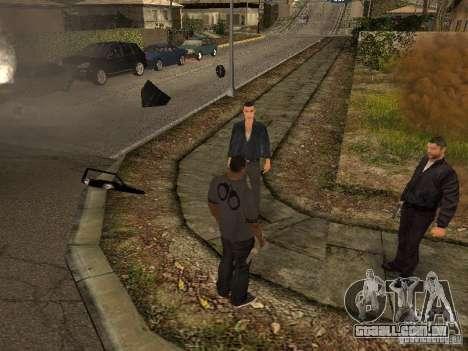 MAFIA Gang para GTA San Andreas quinto tela