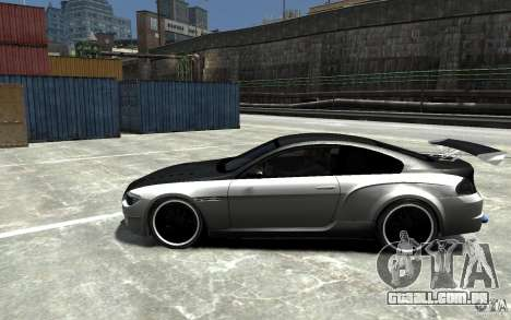 BMW M6 Tuning para GTA 4 esquerda vista