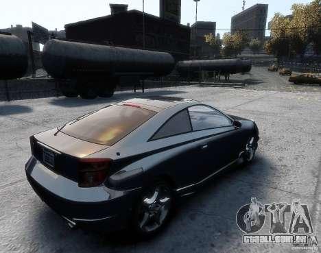 Toyota Celica para GTA 4 esquerda vista