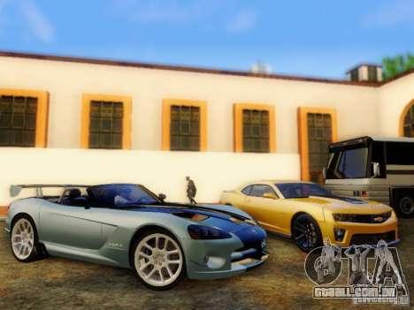 Dodge Viper SRT-10 Roadster ACR 2004 para GTA San Andreas vista direita