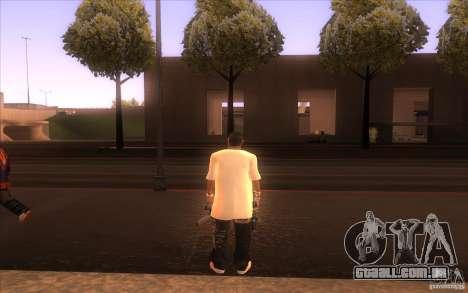 Nova pele para GTA San Andreas segunda tela