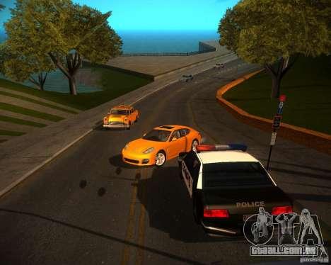 ENBSeries Realistic para GTA San Andreas segunda tela