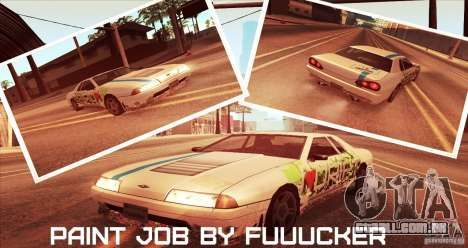 Paintjob for Elegy para GTA San Andreas