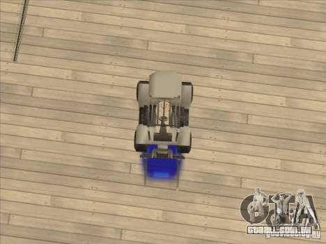 Forklift extreem v2 para GTA San Andreas vista traseira