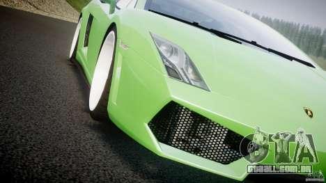 Lamborghini Gallardo LP 560-4 DUB Style para GTA 4 vista inferior