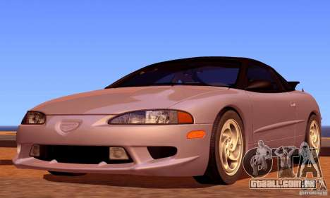 Eagle Talon TSi AWD 1998 para GTA San Andreas vista inferior