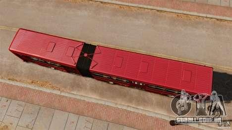 Ikarus 280 para GTA 4 vista direita