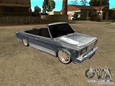 VAZ 2107 conversível para GTA San Andreas