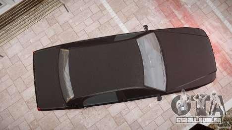 Washington FBI Car para GTA 4 vista superior