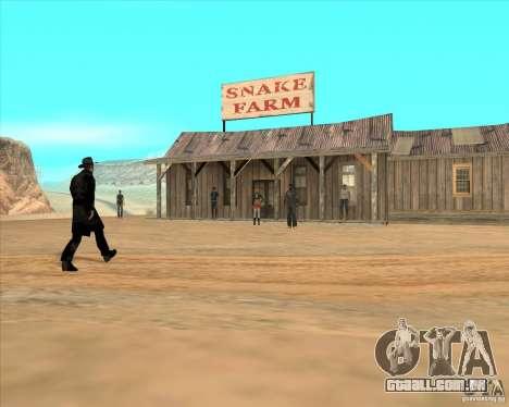 Duelo de vaqueiro para GTA San Andreas terceira tela