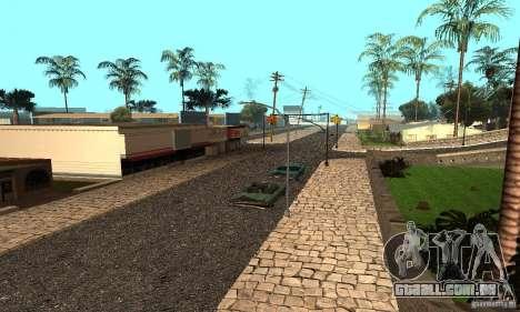 Grove Street para GTA San Andreas segunda tela