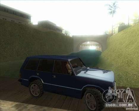 Minhas configurações ENBSeries HD para GTA San Andreas sexta tela