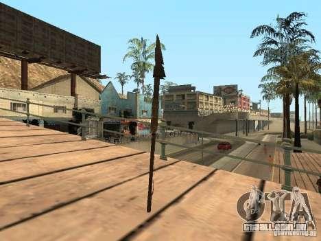 Lança para GTA San Andreas