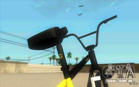 17.5 BMX para GTA San Andreas vista traseira