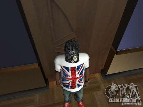 Hip-Hop cap para GTA San Andreas