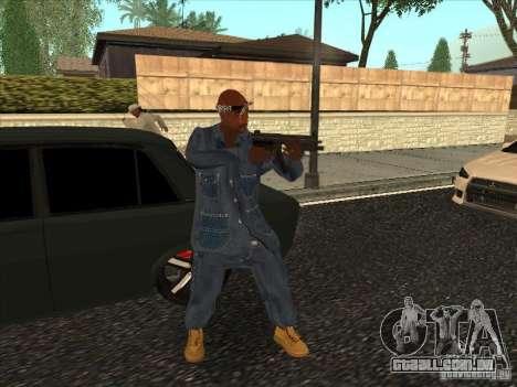 2Pac v1 para GTA San Andreas terceira tela