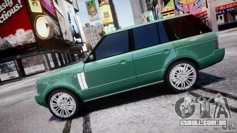 Range Rover Vogue para GTA 4 esquerda vista