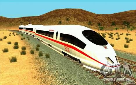 ICE3 Train para GTA San Andreas