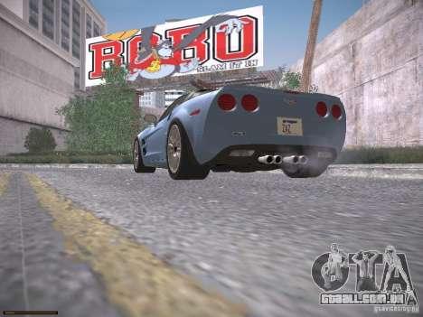 Chevrolet Corvette ZR1 para as rodas de GTA San Andreas