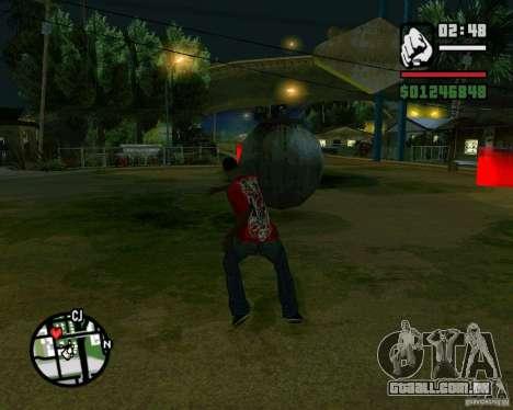 Wrecking ball para GTA San Andreas terceira tela